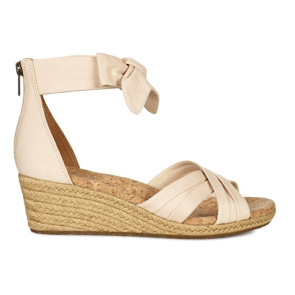 10e514247dd UGG | Traci Espadrille Sandal Cream